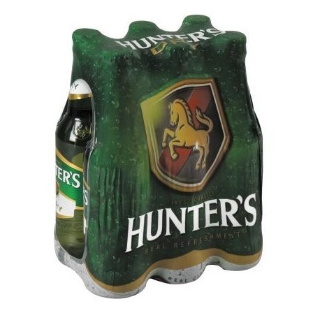 Hunters Dry Cider 6 pack 330ml